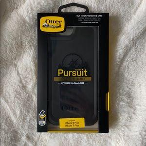 OTTERBOX PURSUIT BLACK IPHONE 7/8 PLUS PHONE CASE